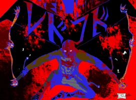 Red Hood Trippy  Colored by EClyptic64