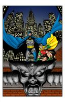 Batman and Robin by statman71