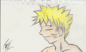 Unintentional Naruto Drawing by Mr-Alf