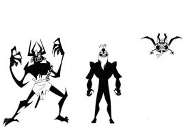 The Many Forms Of Aku VII by Nes44Nes