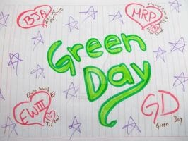 Green Day names by lytre98