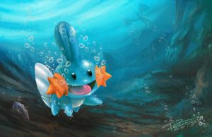 Mudkip by TrachaaArMy