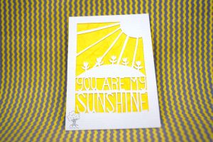 You Are My Sunshine ACEO by quirkandbramble