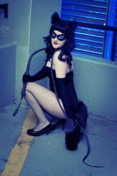 Rockabilly Catwoman: I'm not bad... by HarleyTheSirenxoxo