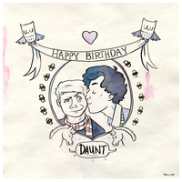 Happy Birthday, Daunt by SirLemoncurd
