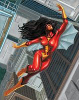 Spider-Woman by sevreed