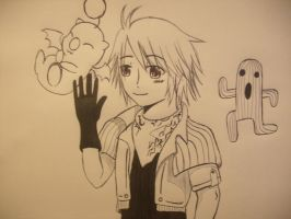 FF 13 Hope and some buddies by girloveslink