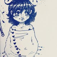 Ink pen practice  by Bromoso