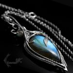 EUNDRIAL - Silver and Labradorite. by LUNARIEEN