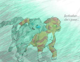 Jayfeather and Lionblaze by TheDragonInTheCenter