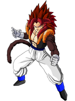 Vegetta SSJ4 by Dairon11