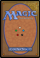 Magic the Gathering Pixel Card v2 by AndreaJacqLee