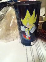 My Sonic cup by Sonicthehedgehog224
