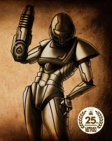 Metroid 25 th by Diogochewbacca