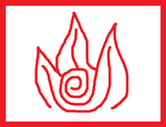 Firebending Symbol by TheDecepticonFemme