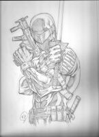 Snake-Eyes Commish by RudyVasquez