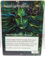 Magic Alteration: Omnath, Locus of Mana by Ondal-the-Fool