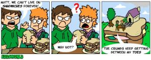 EWcomics No.21 - Sandwiches by eddsworld