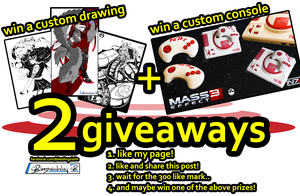 2GiveawayFB by ricepuppet