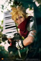 Kingdom Heart Cloud strife by okageo