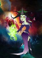 Maleficent by LostHellAngel