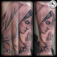 Maria by arturtattooart