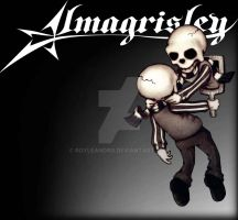 Almagrisley logo long time ago by RoyLeandro