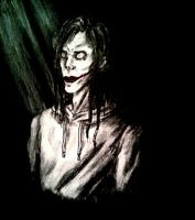 Jeff the Killer Portrait by BloodHoney500