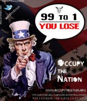 Occupy the Nation: 99 to 1 by LightChild