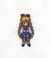 Minako Cross Stitch by JealaTriumph