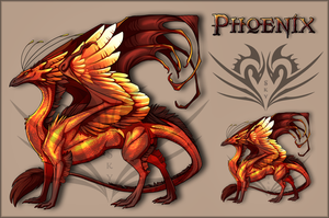 Phoenix - Skydancer Skin by GaiaWolfess