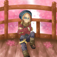 Grumpy hipster by griff-chii