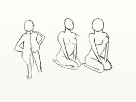 Practice human dynamic pose be by gtstyling32
