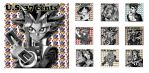 Shonen Jump Stamps by goldjedi