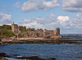 St. Andrews  Castle by DundeePhotographics
