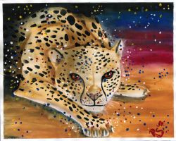 Cheetah by ReginesArtwork