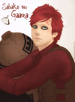 Sabaku no Gaara by Cuine