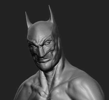 Batman -WIP2- by marcnail