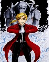FMA: Armored Alchemist by Fyre-Dragon