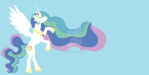 Princess Celestia by Ichigo-Shindou