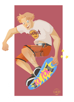 skater by MuddleofDoodlez