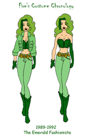 Fire's Costume Chronology Pt 2 by Femmes-Fatales