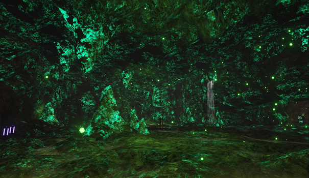 The Cave (glow worms area) by Curlsbel