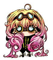 steampunk chibi by Tanashi