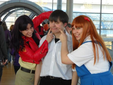 2011: Neon Genesis Evangelion Group by shari81