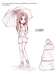 Sketch for Watchers - CLARA by Slypht