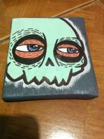 mint skull by atwhc
