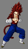 Vegetto SSJ4 by hsvhrt