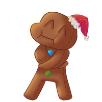 Gingerbread Man by xXxSnuffleBunnyxXx