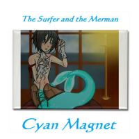 Cyan Magnet--Surfer x Merman by xxx-TeddyBear-xxx